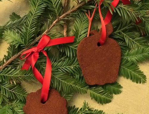 Cinnamon Apple Sauce Ornaments