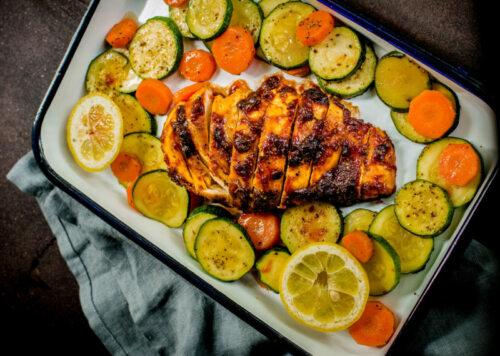 apple sauce grilled chicken recipe