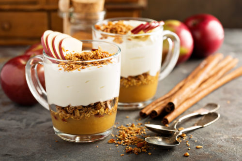 apple sauce parfait recipe