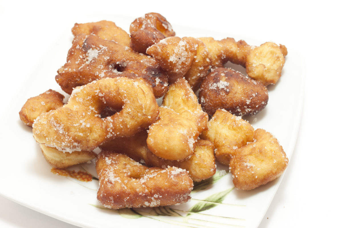 apple sauce fritters