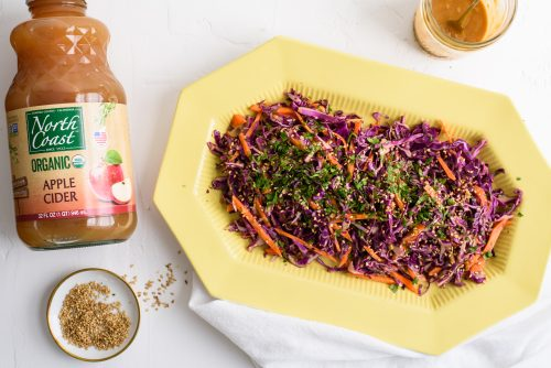 Asian Inspired Coleslaw Recipe