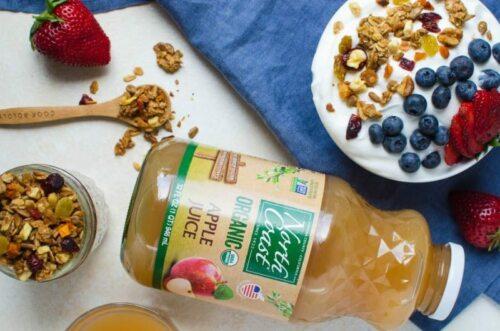 apple juice granola recipe