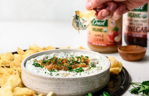 Apple Cider Carmelized Onion Dip Recipe