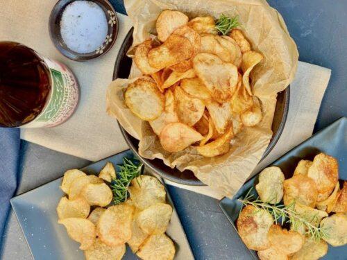 Homemade Salt and Vinegar Potato Chip Recipe