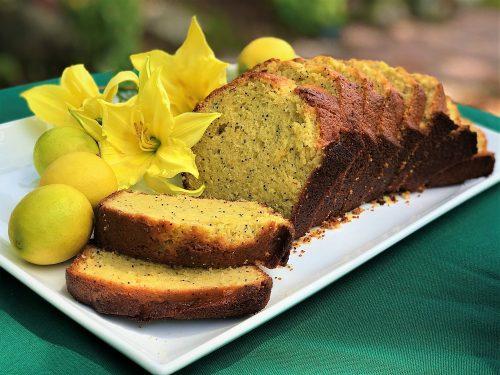 Lemon Poppyseed Loaf Cake Recipe